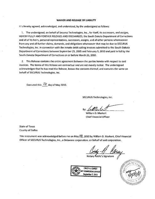 Sd Contract With Fsh 2007 With Amendments 1 3 Extending To 2011