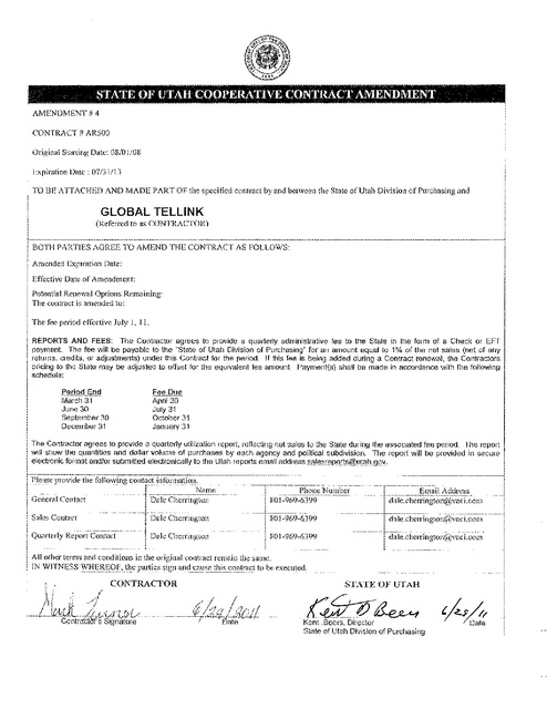 ut contract with gtl 2008 2013 with fsh rfp prison phone justice