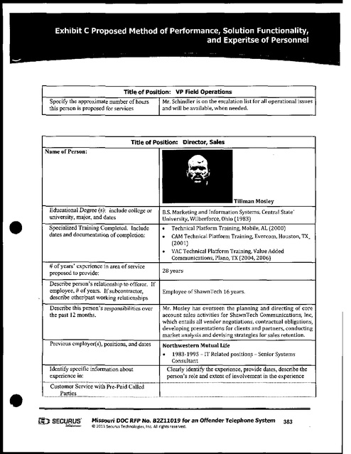 MO Contract with Securus 2011 Part 9   Prison Phone Justice
